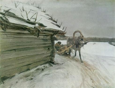 bilder_serow-alexandrowitsch-walentin--im-winter-793563