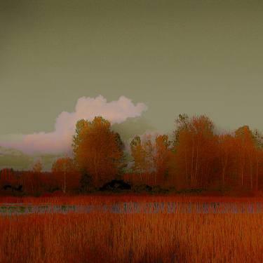 Landscape with clouds Pavel Rehurek
