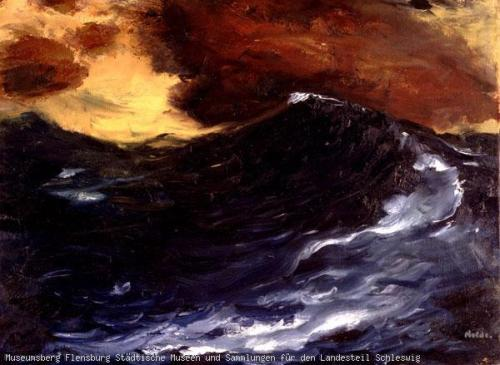 The wave Emil Nolde