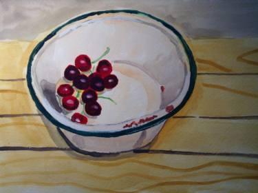food bowl of cherries adrian wallen