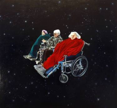 st grandmas in outer space Maja Kobylinska