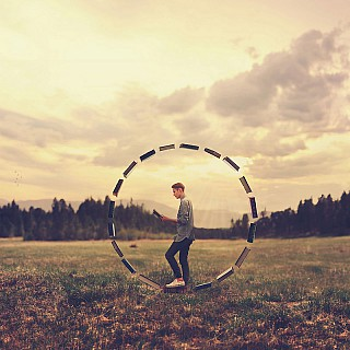 joel robison sourrounded by knowledge