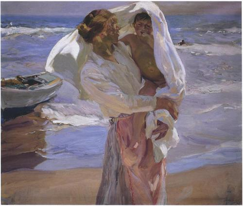 just-out-of-the-sea-1915 sorolla