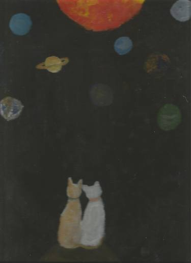 c cats in space briana M