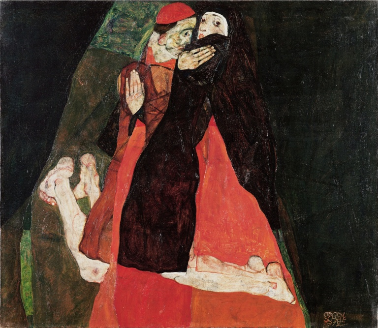 Egon_Schiele_-_Cardinal_and_Nun_(Caress)_-_Google_Art_Project