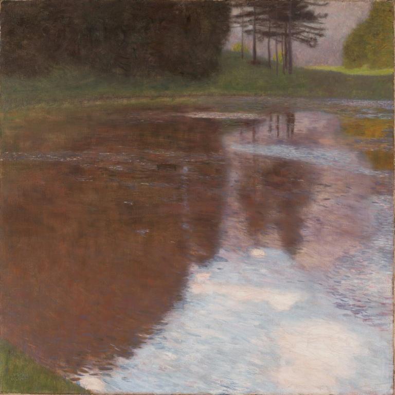 Gustav_Klimt_-_Tranquil_Pond_(Egelsee_near_Golling,_Salzburg)_-_Google_Art_Project