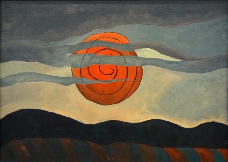 dove red sun