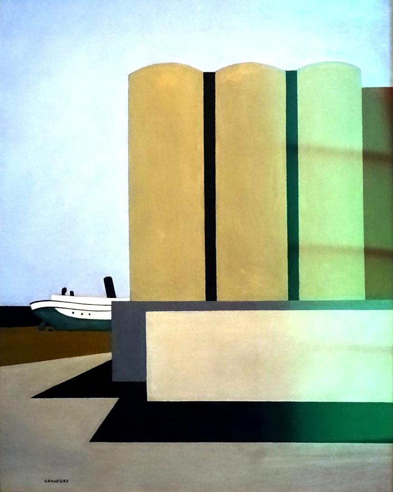 ship and silos