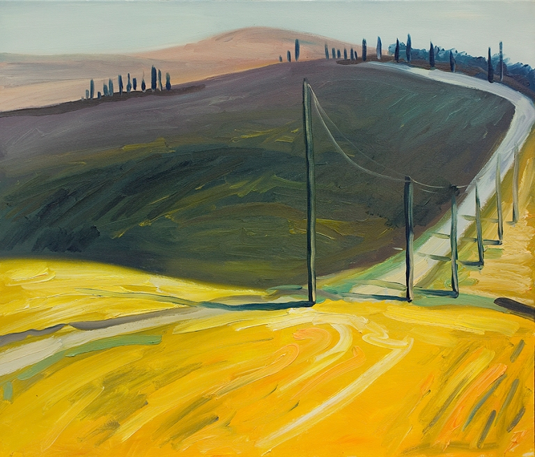 the road, Tuscany, Jacek Malinowski