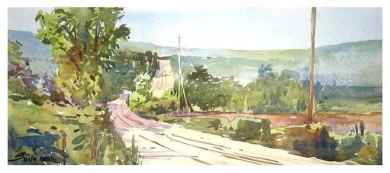 serbian rural landscape