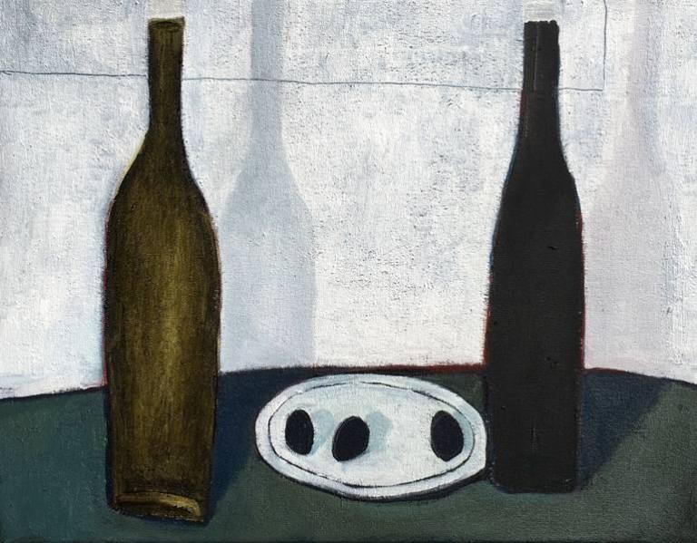 oil vinegar and three olives