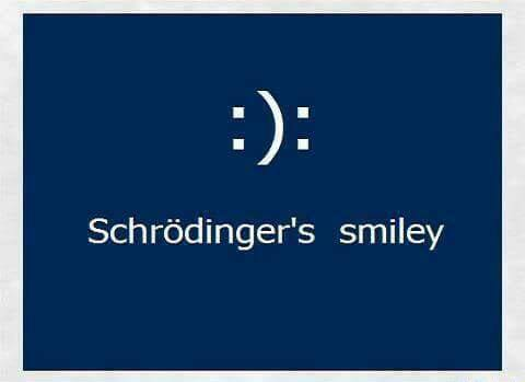 schrödingers smiley