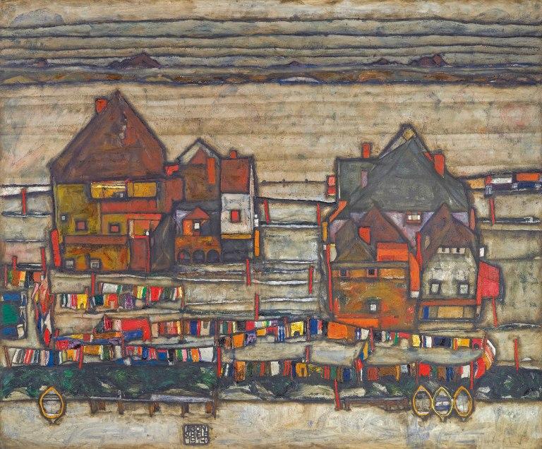 2608px-Egon_Schiele_-_Häuser_mit_bunter_Wäsche_(1914)