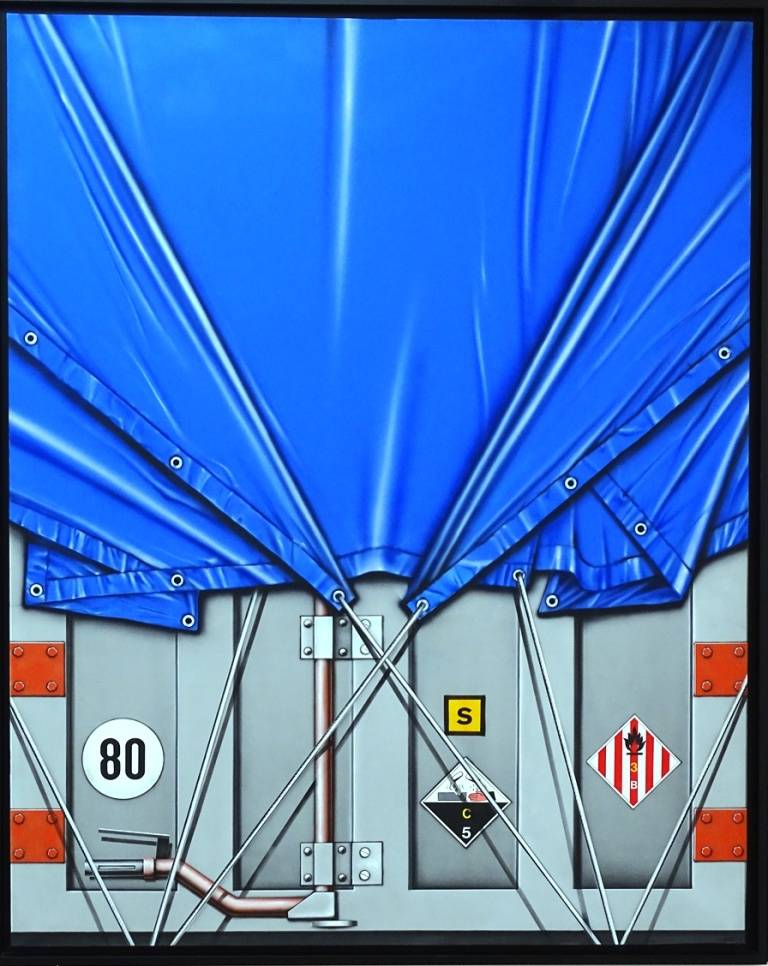 Camion bâché alu-corrosif C5, Peter Klasen, 1977
